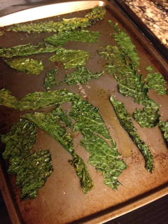 Salted Kale Chips
