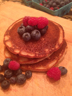 Pancakes No Refined Sugar